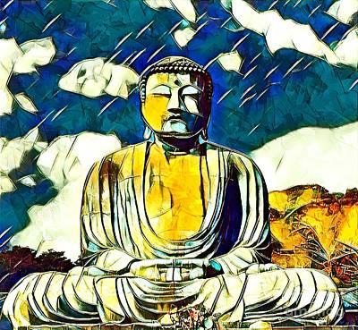 Kamakura Daibutsu Art Print