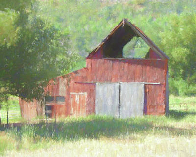 Digital Art - Kamas Barn Dop by David King