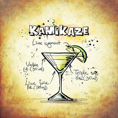 Gathering Mixed Media - Kamikaze by Movie Poster Prints