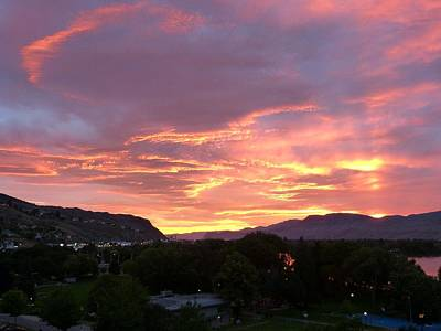 Photograph - Kamloops Sunset 2 by Will Borden