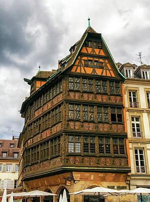 Photograph - Kammerzell House, Strasbourg, Alsace, France by Elenarts - Elena Duvernay photo