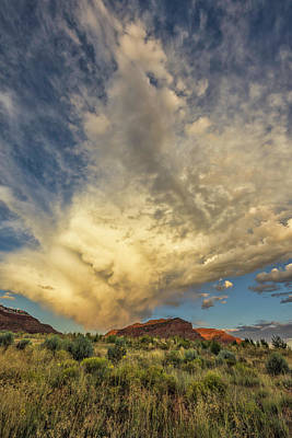 Mcherdering Photograph - Kanab Clouds by Mike Herdering