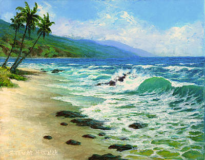Kanaha Beach Art Print by Steven Welch
