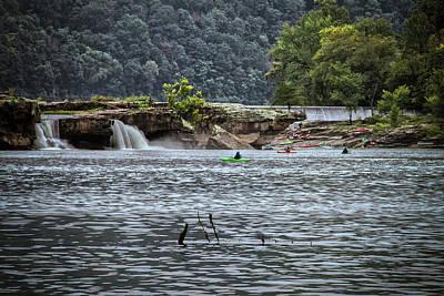 Photograph - Kanahwa Falls Festival by Daniel Houghton