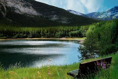 Photograph - Kananaskis Country by Shirley Sirois