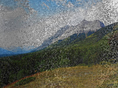 Photograph - Kananaskis Landscape by David Pantuso