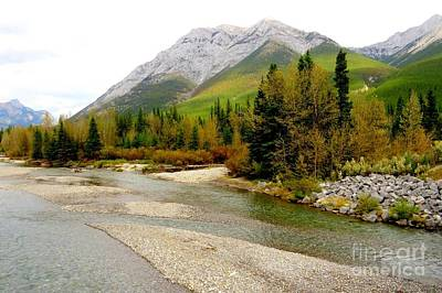 Photograph - Kananaskis River by Frank Townsley