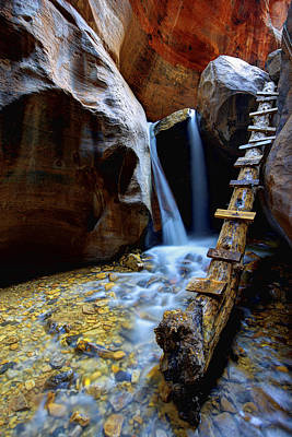 Canyons Photograph - Kanarra by Chad Dutson