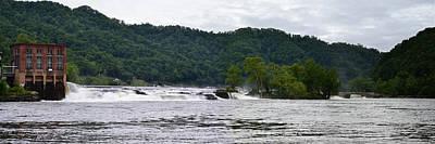 Photograph - Kanawha River Falls by rd Erickson