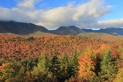 Photograph - Kancamagus Highway Fall Foliage by John Burk
