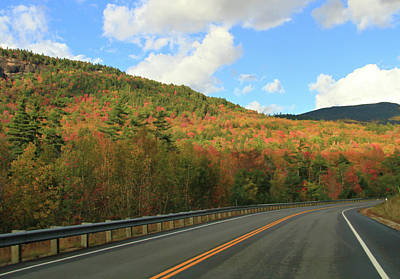 Photograph - Kancamagus Highway In Fall by Dan Sproul
