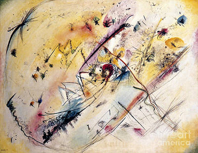 Kandinsky: Light, 1913 Art Print by Granger