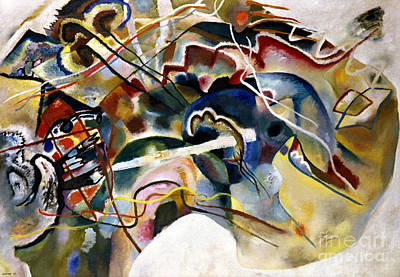 Photograph - Kandinsky: White, 1913 by Granger