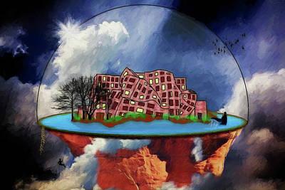 Digital Art - Kandorian Dreams by John Haldane
