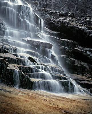 Fall Photograph - Kane Falls by Leland D Howard