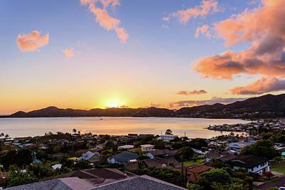 Photograph - Kaneohe Bay Sunrise 2 by Jason Chu