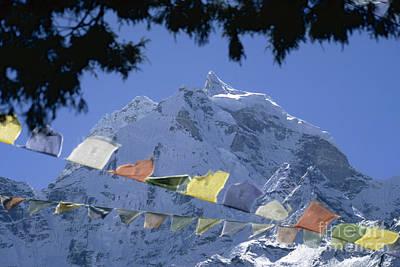 Photograph - Kang Tega Nepal by Rudi Prott