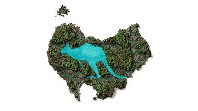 Digital Art - Kangaroo Island. by Anton Kalinichev