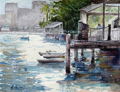 Painting - Kangaroo Point by Sof Georgiou