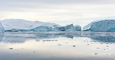 Greenland Photograph - Kangia Icefjord by Janet Burdon