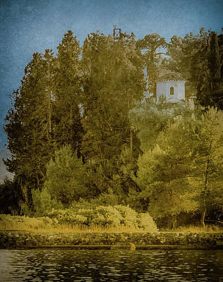 Photograph - Kanoni, Corfu, Greece - Protected by Mark Forte
