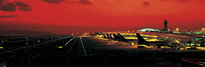 Kansai International Airport Osaka Japan Art Print by Panoramic Images