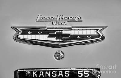 Photograph - Kansas '55 by Dennis Hedberg