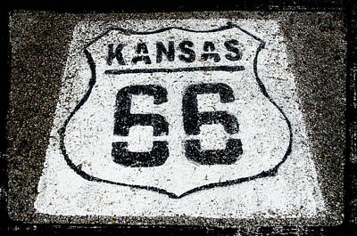 Photograph - Kansas 66 by Susan McMenamin