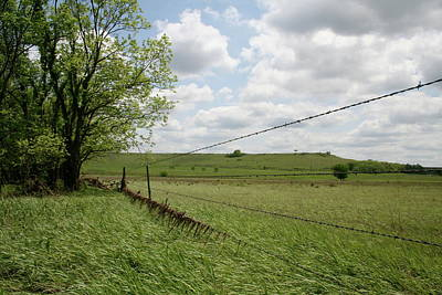 Photograph - Kansas Barbed View by Dylan Punke