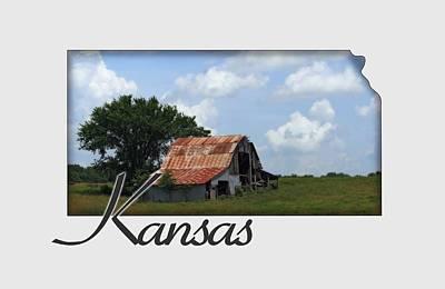 Photograph - Kansas Barn by Corey Haynes