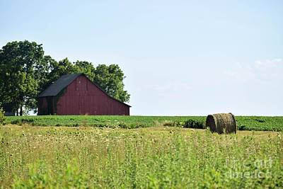 Photograph - Kansas Barn by Mark McReynolds