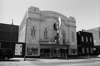 Photograph - Kansas City - Gem Theater Bw by Frank Romeo