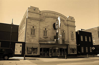 Photograph - Kansas City - Gem Theater Sepia by Frank Romeo