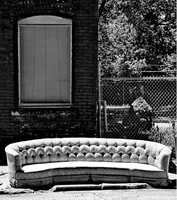 Photograph - Kansas City Couch by Gia Marie Houck
