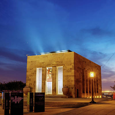 Photograph - Kansas City Liberty Memorial At Twilight by Gregory Ballos