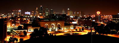Photograph - Kansas City Lights by David Dunham