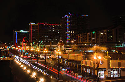 Photograph - Kansas City Lights by Jean Hutchison