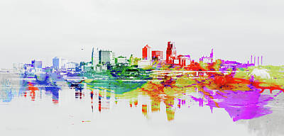 Photograph - Kansas City Missouri Skyline by Pamela Williams