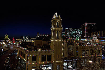 Photograph - Kansas City Plaza Lights by Tim McCullough