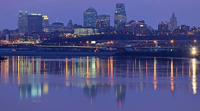 Photograph - Kansas City Royal Purple by Frozen in Time Fine Art Photography