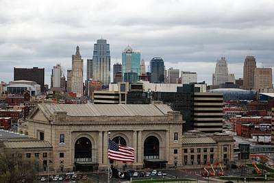 Photograph - Kansas City Skyline by Matt Harang