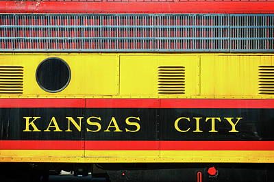Photograph - Kansas City Southern by Bud Simpson