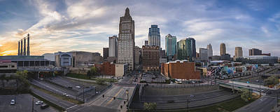 Photograph - Kansas City Sunset by Ryan Heffron