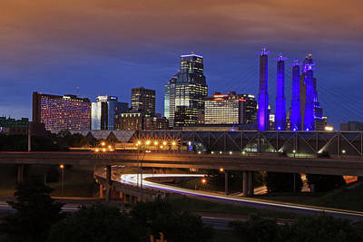 Photograph - Kansas City Twilight by Christopher McKenzie