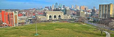 Photograph - Kansas City Wide Angle by Frozen in Time Fine Art Photography