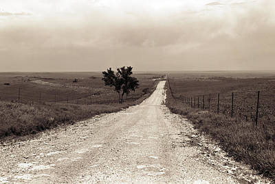Photograph - Kansas Country Road by Thomas Bomstad