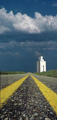 Photograph - Kansas Grain Elevator by Garry McMichael
