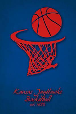 Dunk Photograph - Kansas Jayhawks Basketball by Joe Hamilton