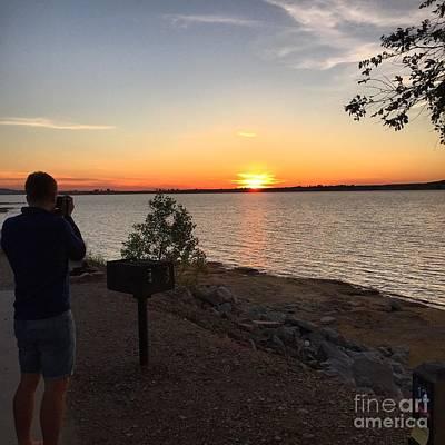 Photograph - Kansas Lake by Parker ODonnell