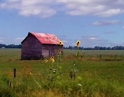 Kansas Landscape Art Print by Steve Karol